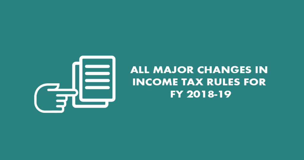 10 changes in income tax rules in 2019