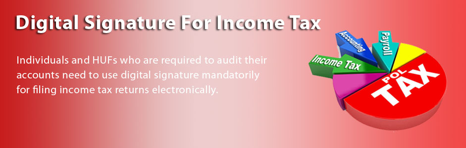 Digital signature for Income Tax Return