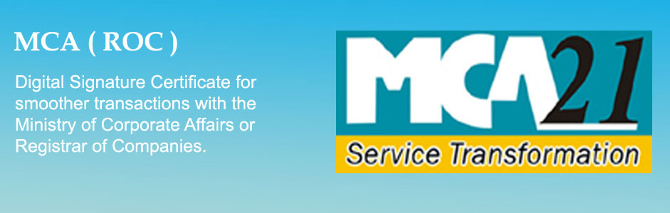 How to get digital signature for mca