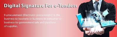 Class 3 digital signature for e tendering
