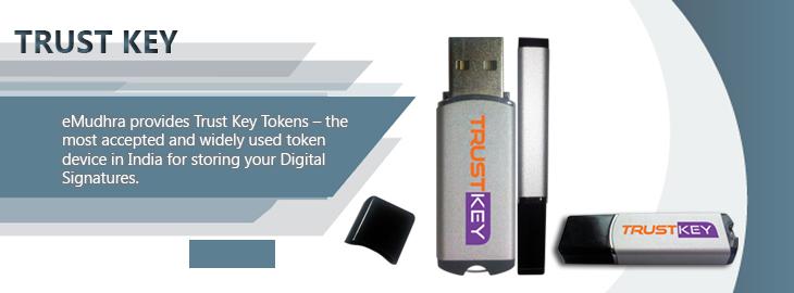 trust key usb token