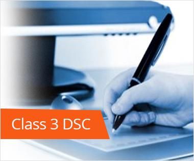 Class 3 Digital signature