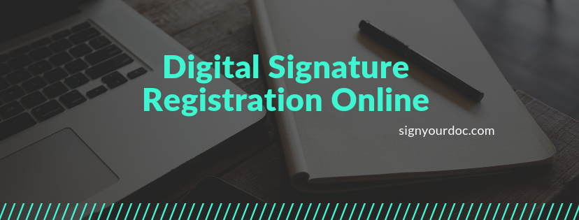 Digital Signature Registration