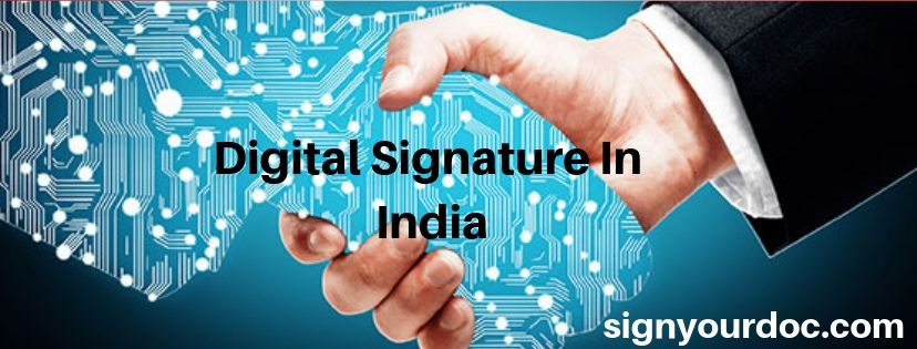 digital signature in india