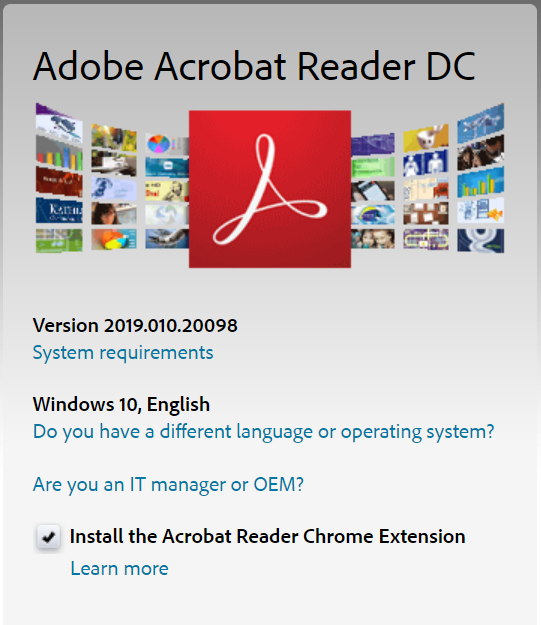 adobe acrobate reader