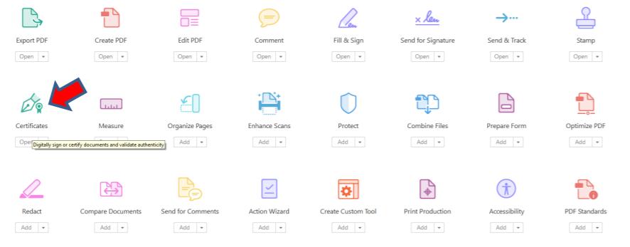 certificate tools