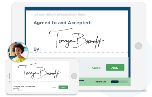 Documents signer digital signature