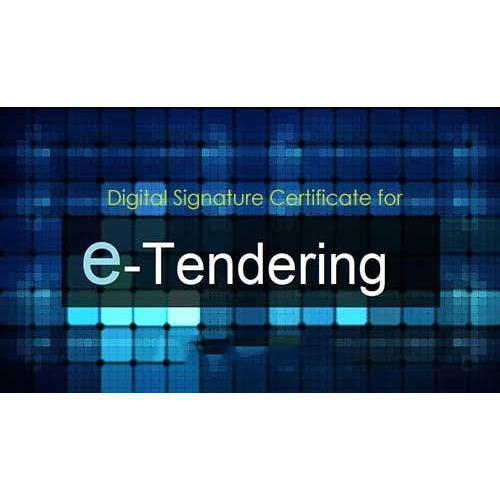 e-tendering digital signatue