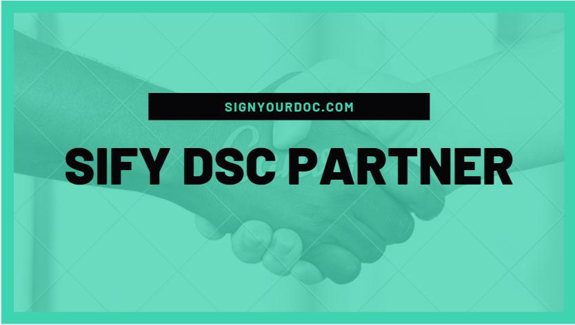 sify DSC partner