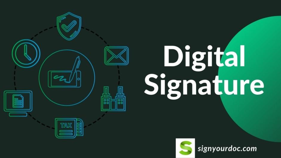 Digital signature process