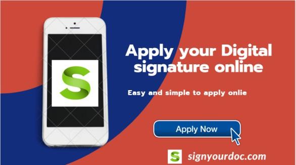 Apply Digital signature online