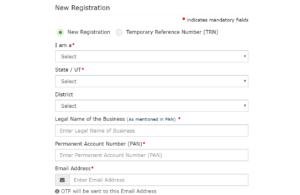 Enter GST Details